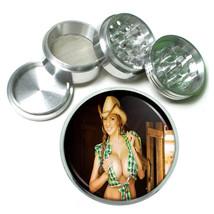 Farmers Daughter Pin Up Girls D6 63mm Aluminum Kitchen Grinder 4 Piece Herbs - $11.05