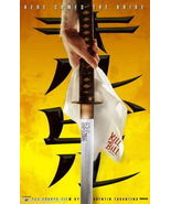 Kill Bill Volume 1 Promotional Movie Poster NEW Quentin Tarantino Samura... - $7.99