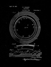 Sound Record Patent Print - Black Matte - $7.95+