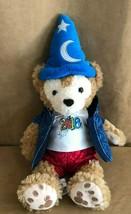 "Disney Parks 2016 Duffy Bear 12"" Plush Doll with Sorcerer Mickey Hat teddy - $21.29"