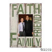 Faith Family Friends Photo Frame - $12.49