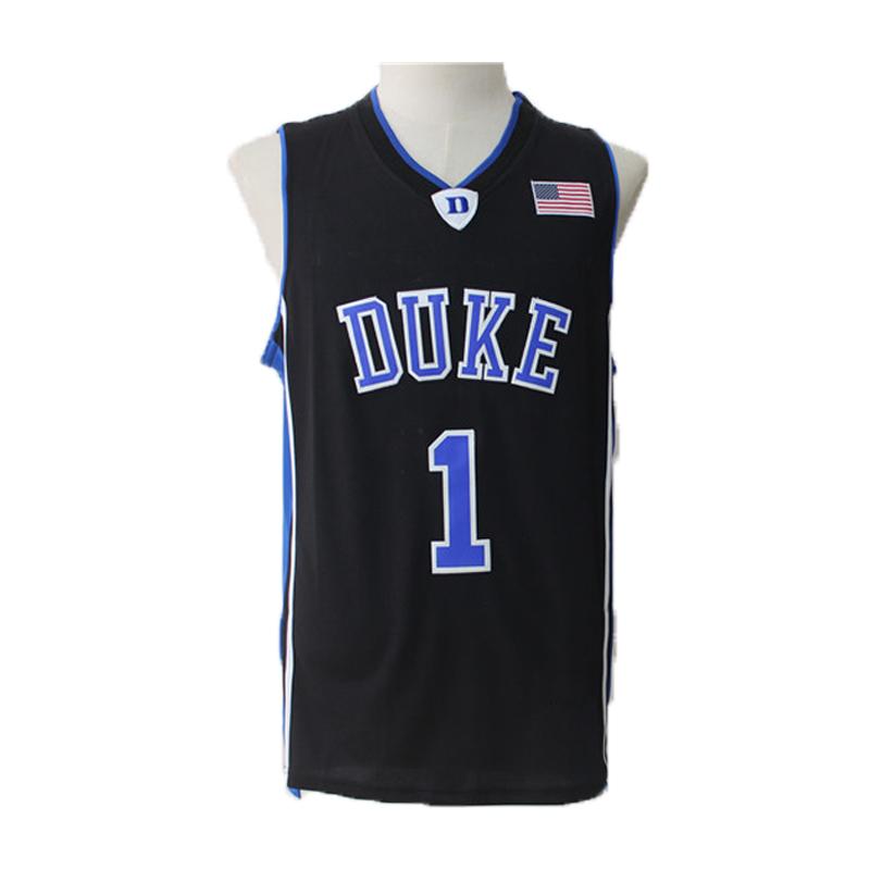b307283afbd Kyrie Irving  1 Duke Blue Devils Basketball Jersey Men Boston Celtics S 2XL