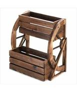 Wagon Wheel Double-tier Planter - $87.33