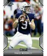 """TRACE MCSORLEY 2019 LEAF DRAFT """"1ST EVER PRINTED"""" ROOKIE CARD! PENN STATE! - $2.93"""