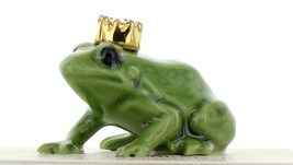 Hagen Renaker Miniature Frog Prince Small Ceramic Figurine image 1