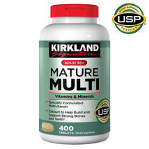 Kirkland Signature Adult 50+ Mature Multi Vitamins and Minerals, 400 Tablets - $18.49