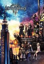 Tenyo Jigsaw Puzzle Disney Kingdom Hearts III SQUARE ENIX 1000 Piece Japan - $66.30