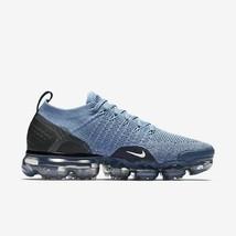 Nike Wmns Air Vapormax Flyknit 2 Shoe 942843-401 Work Blue/Crimson Tint Sneakers - $189.99