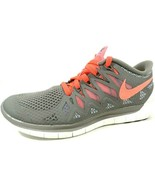 Nike Womens Shoes Free 5.0 Running Mesh Gray 642199 301/200 Sneakers Ath... - $59.99