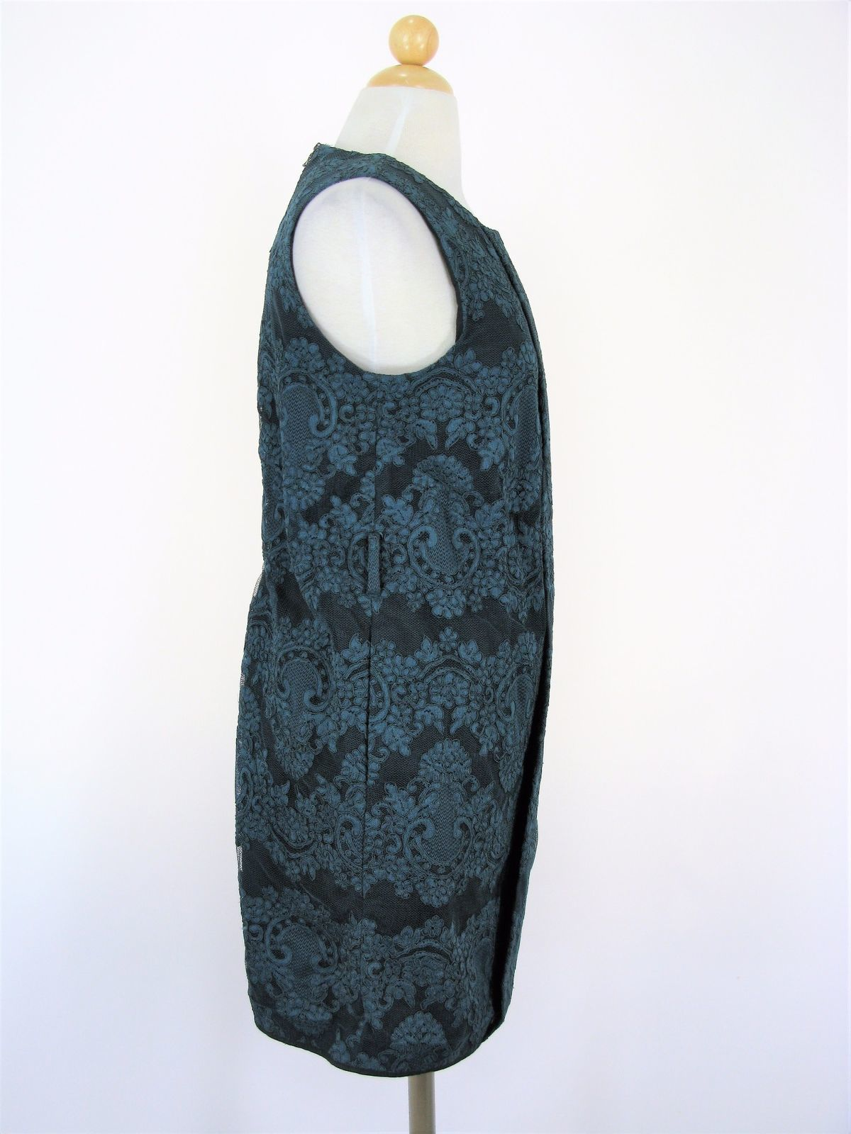 Robert Rodriguez Lace 60's Style Tunic Shift Dress 6 NWOT $685 MSRP