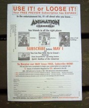 Animation Magazine April 2002 Spiderman & More - $16.99