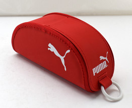 Puma Red Eyeglasses Sunglasses Eyewear Case - Half Moon - Hook & Loop Cl... - $9.45