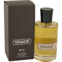 Coach Leatherware No.1 Pour Homme Cologne 3.2 Oz Eau De Parfum Spray image 1