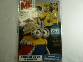 Despicable Me Minion Made Sticker Book - $8.90