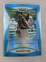2008 Bowman Chrome Prospects Blue Refractor #BCP5 Jacob Butler #'ed 74/1... - $6.88