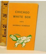 1974 Chicago White Sox Baseball Schedule General Finance Corp. #F - $29.21