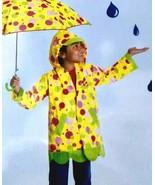 NEW Mollie and Bollie Raincoat KIDS size David Kirks Lady Bug Sunny Patc... - $19.78