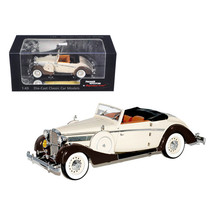 1937 Maybach SW38 Spohn 2 Doors Tan Convertible 1/43 Diecast Car Model b... - $40.27