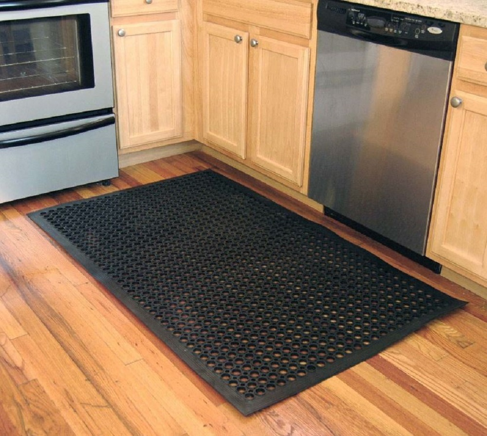 Rubber floor mats kitchen