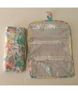 Lot of 2 Jewelry Travel Organizer Roll Bag Snap Closure Zippered Compart... - $11.99