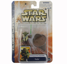 Star Wars 2003 Clone Wars Army of the Republic Yoda - $10.99