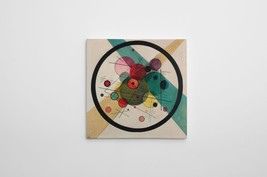 """Kandinsky Barbican Gallery Wrapped Canvas Wall Art 30""""x30"""" - $83.11"""