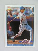 Pat Tabler New York Mets 1991 Topps Baseball Card 433 - $0.98