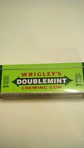 Wrigley's Doublemint Candy Tin Green Ad Advertising Box Collectible Chew... - $6.90