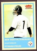 2004 FLEER TRADITION #333 BEN ROETHLISBERGER (RC) ROOKIE CARD LOT (2) - $59.35