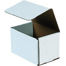 Boxes Fast BFM644 Corrugated Cardboard Mailers, 6 x 4 x 4 Inches, Tuck T... - $51.97