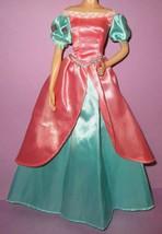 Disney Store Princess Little Mermaid Ariel Dress Gown Fashion Wardrobe P... - $29.99