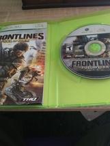 MicroSoft XBox 360 Frontlines: Fuel Of War image 2