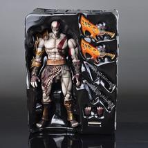 AOF SQUARE ENIX Play Arts KAI God of War Kratos PVC Action Figure Collec... - $93.00