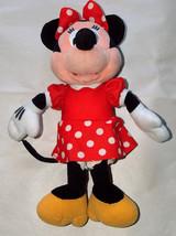 """Disney Minnie Mouse 11"""" con Relleno Peluche Muñeca Lunares Falda, Pajarita - $10.74"""