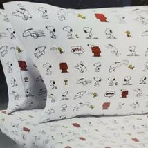 Berkshire Peanuts 4 Piece Snoopy Woodstock Gang Polyester Queen Sheet Set - $47.45