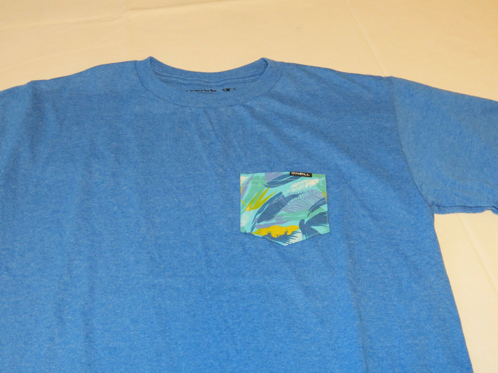 Boys youth O'Neill surf skate XL Burner T shirt Youth TEE SBZ blue htr SU6218401 image 2