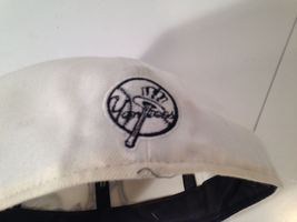 """NEW YORK YANKEES New Era 59Fifty Fitted WHITE Hat 7 3/4"""" *EUC* *FREE SHIP* image 6"""