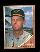 1962 Topps #488 Hal Brown Ex Orioles *XR22303 - $5.00