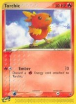 Torchic Moderately Played Target Free shipping - $2.50