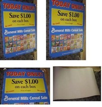 General Mills Cereal Poster Count Chocula Trix Lucky Charms Cheerios + More - $34.99