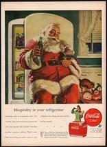 Vintage magazine ad COCA COLA from 1947 Santa Claus pic Haddon Sundblom ... - $13.49