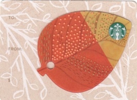 Starbucks 2014 Mini Leaves #3 Collectible Gift Card New No Value - $3.99