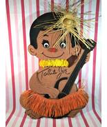 """Amazing 1960's Tahiti Joe Snow Foam 21"""" Uke Player Polynesian Tiki Luau ... - $48.00"""
