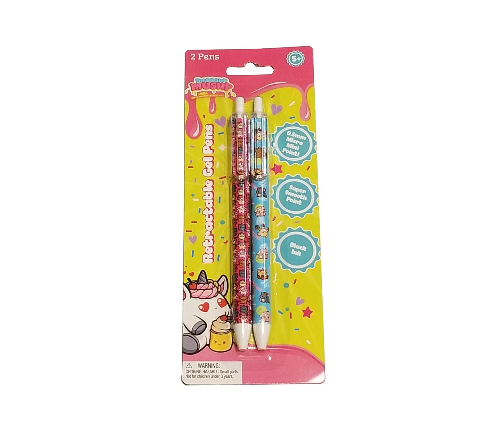 Smooshy Mushy 0.5mm Gel Pen 2 Pack (994-8) Back to School