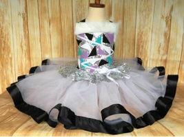 Abbey Bominable Costume, Monster High Tutu, Monster High Party - $60.00+
