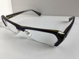 New ALAIN MIKLI A 0474 16 52mm Blue Semi-Rimless Eyeglasses Frame - $299.99