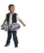 Toddler Boys Star Wars Millennium Falcon Hans Solo Halloween Costume- OS... - $13.86