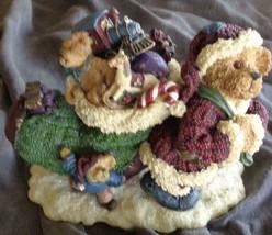 Collectible Boyd's Bears Bearstone Figurine - Christmas Is Coming - SUPE... - $29.69