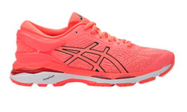 ASICS 2017 Women's GEL KAYANO 24-W Road Running Shoes FLASH CORAL Authentic - $176.00