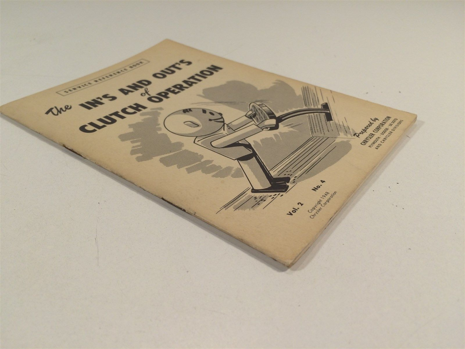 1948 Chrysler Corp Service Ref Book V2 No 4 In's and Out's of Clutch Operation